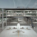 Drive Through Airport by Büro für MEHR