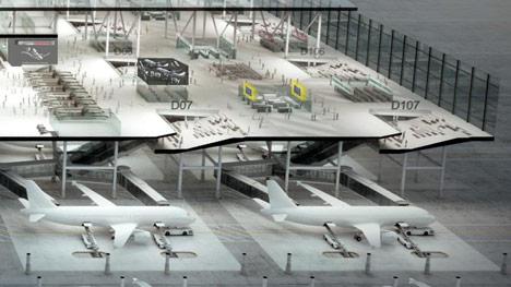 Drive Through Airport by Büro für MEHR