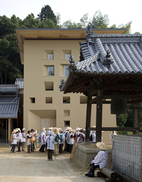 Enbutsu-do at Eifuku-ji Temple by Zai Shirakawa Architects & Associates