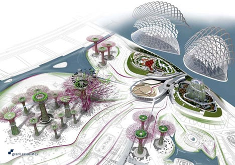 Gardens By Design click Gardens By The Bay By Grant Associates And Wilkinson Eyre