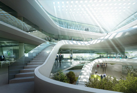 Green Climate Fund Headquarters by L