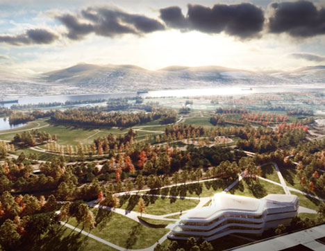 Green Climate Fund Headquarters by LAVA