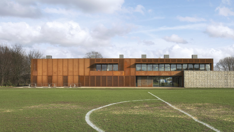 Hackney Marshes Centre by Stanton Williams