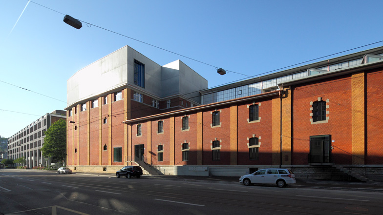 Kunsthalle Zürich by Gigon/Guyer Architects and Atelier WW