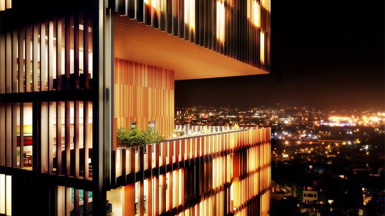 Manhattan Loft Gardens By Som