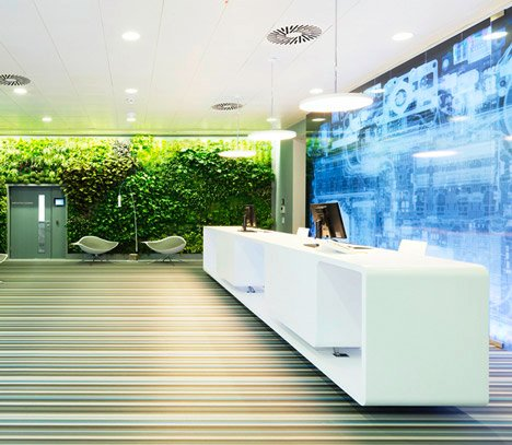 Microsoft Headquarters in Vienna by Innocad