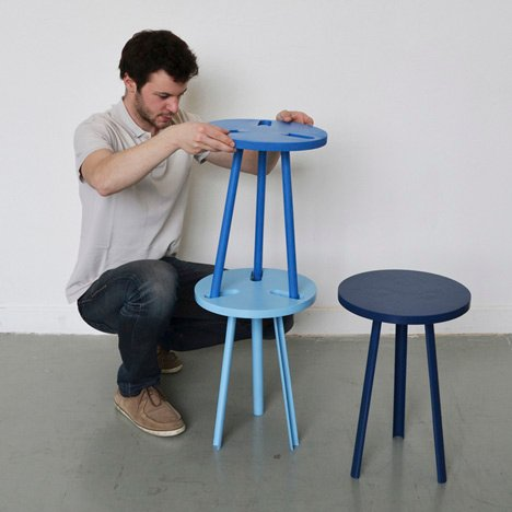 Modest Stool by Paul Menand