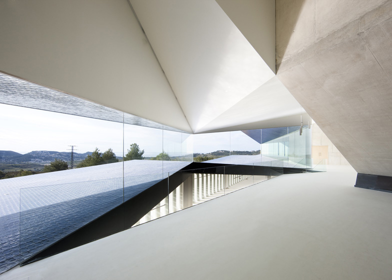 The angular facets of this auditorium in Alicante are inspired by the craggy rocks of the Mediterranean shore