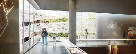 Musée de la Romanité in Nîmes by Elizabeth de Portzamparc