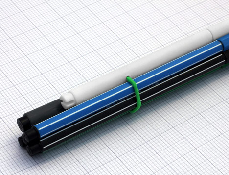 Pencil-case pen and Pencil V2.0 by Yang:Ripol