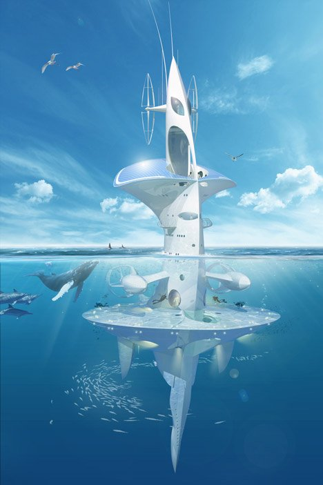 SeaOrbiter by Jacques Rougerie