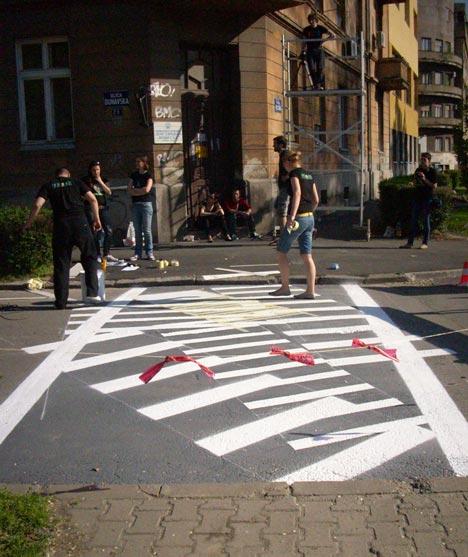 The Zebra Crossing Project by Eduard Čehovin