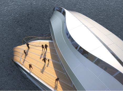 Thomas Heatherwick's boat for the Loire