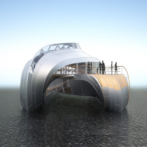Thomas Heatherwick's boat for the Loire
