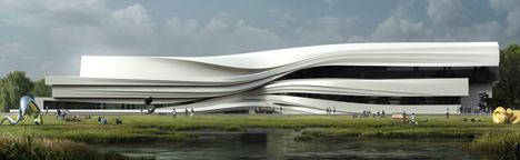Yinchuan Art Museum by WAA