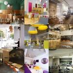 New Pinterest board: cafes