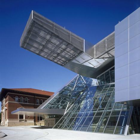 Akron Art Museum by Coop Himmelb(l)au