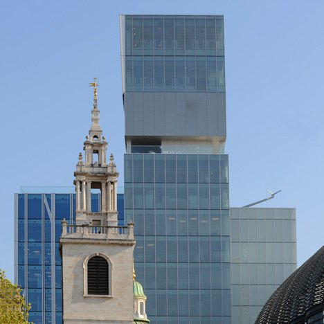 New Court, Rothschild Bank headquarters by OMA with Allies and Morrison