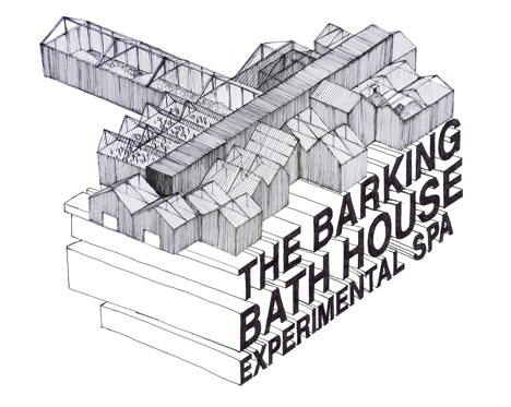 The Barking Bathhouse by Something & Son