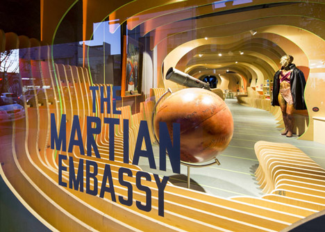 The Martian Embassy by LAVA Will ORourke and The Glue Society