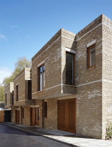 Wakefield Street Townhouses by Piercy and Company