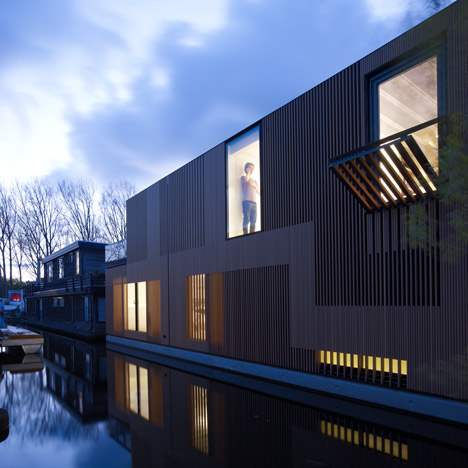 Water Villa by Framework Architecten<br /> and Studio Prototype