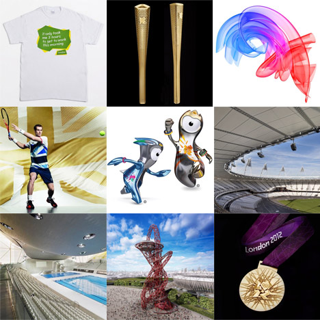 New Pinterest board: London 2012 Olympics Design