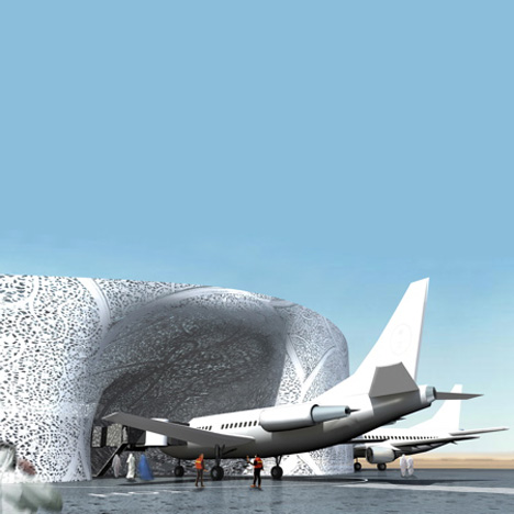 Jeddah International Airport by OMA