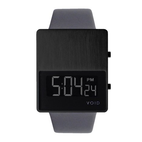VOID V01 watch in black/grey