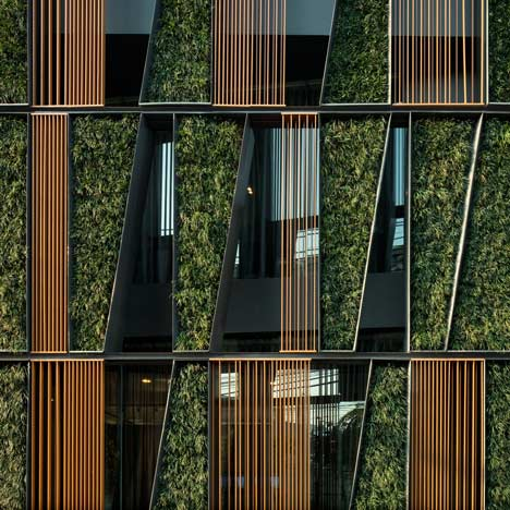 Vertical Living Gallery in Bangkok by Sansiri and Shma
