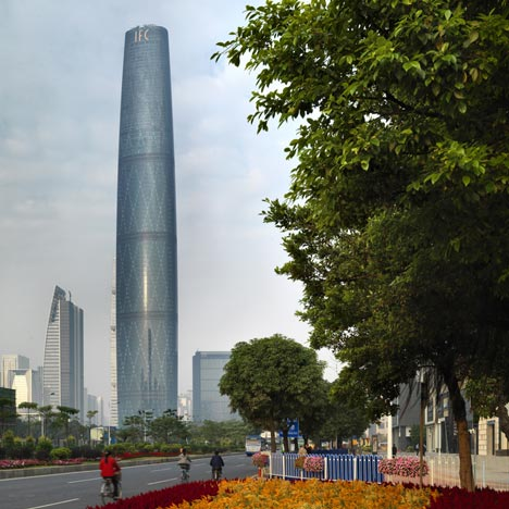 Guangzhou International Finance Centre by Wilkinson Eyre Architects