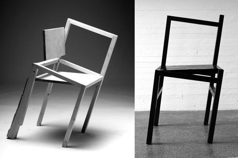 9,5 chair by Rasmus B. Fex