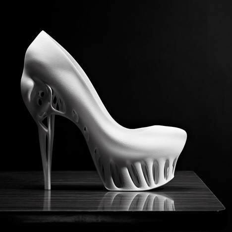 Biomimicry shoe by Marieka Ratsma