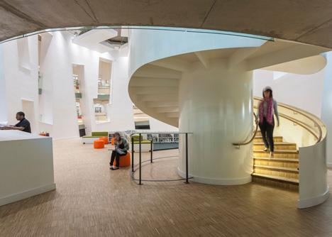 Clapham Library by Studio Egret West