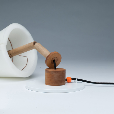 Collapse lamp by Hayo Gebauer
