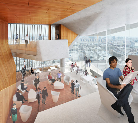 Columbia University Medical and Education Building by Diller Scofidio + Renfro