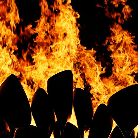 Making of Thomas Heatherwick's London 2012 Olympic cauldron