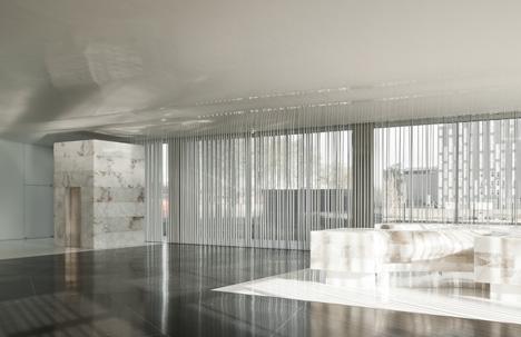 D38 Zona Franca Office by Arata Isozaki