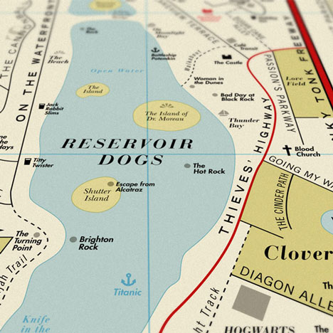 Competition: five prints of Film Map by Dorothy to be won