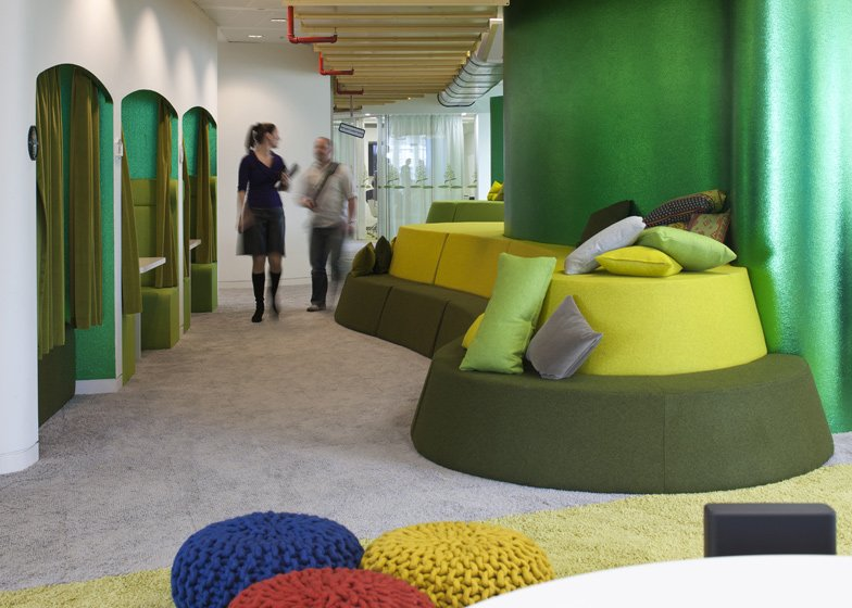 Workspace a gallery of google s global offices livin spaces
