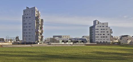 Housings in la Courrouze by Philippe Gazeau 2