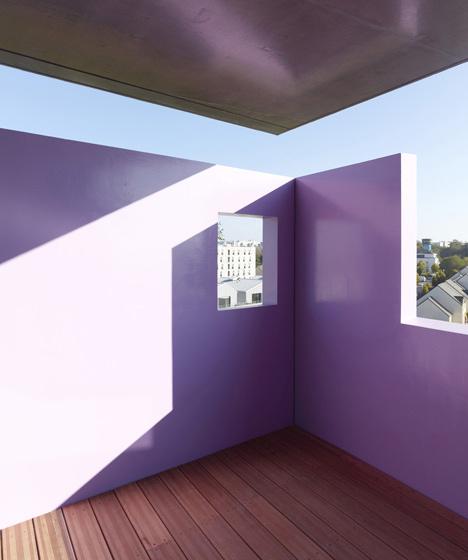 Housings in la Courrouze by Philippe Gazeau