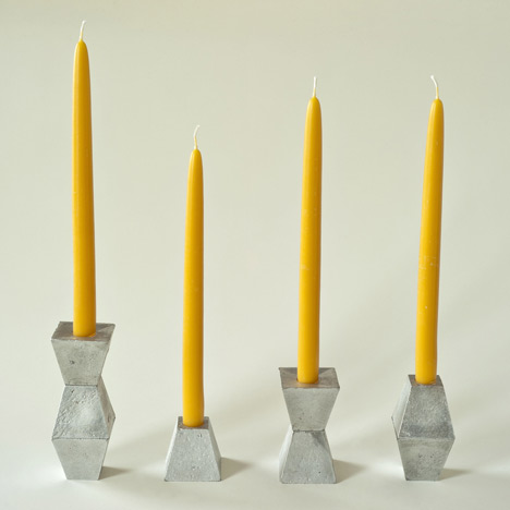 Hyde Candlesticks by Pete Oyler for Assembly