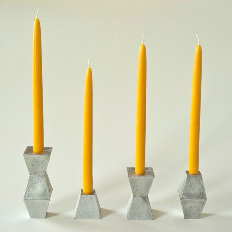 Hyde Candlesticks by Pete Oyler