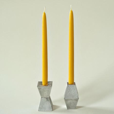 Hyde Candlesticks by Pete Oyler