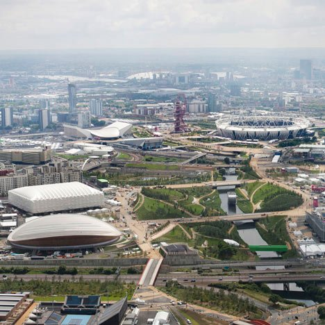 dezeen_Interactive photo of London 2012 Olympic park_1