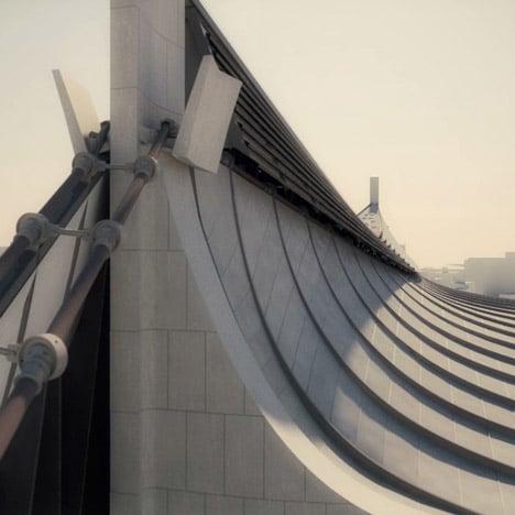 Kenzo Tange's Yoyogi Olympic Arena