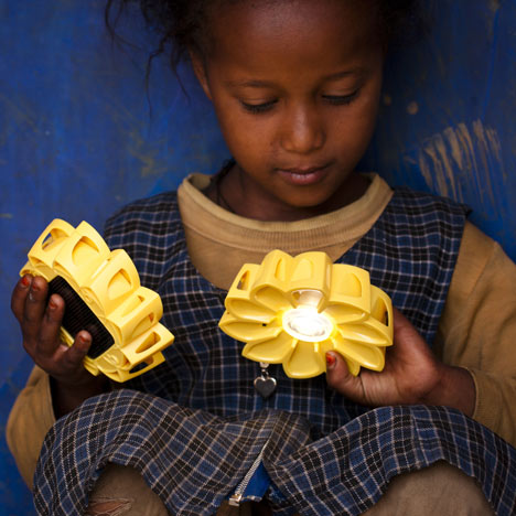 Original Little Sun solar-powered lamps