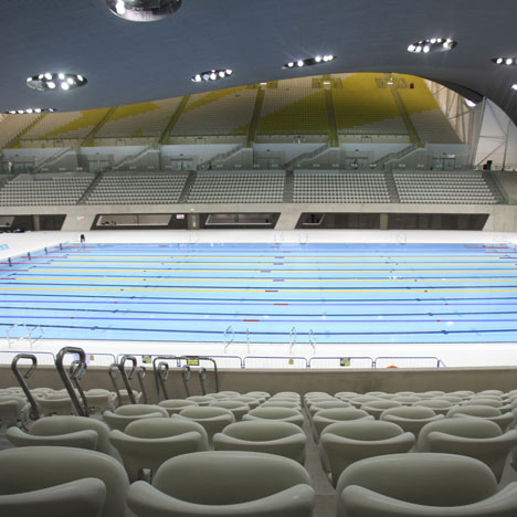 Zaha Hadid denies blame for restricted views at London 2012 Aquatics Centre