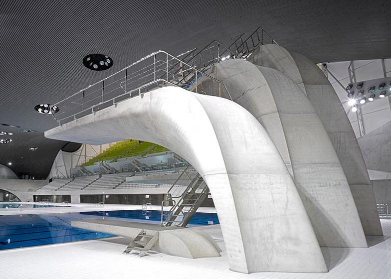 Aquatics Centre by Zaha Hadid